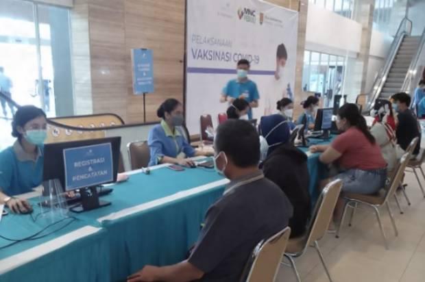 Peserta Apresiasi Vaksinisasi Massal DKK Semarang di RS Telogorejo