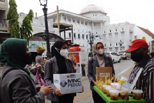Didukung MNC Peduli, Relawan Sadar Prokes Berikan Penyuluhan 5M di Kota Lama Semarang
