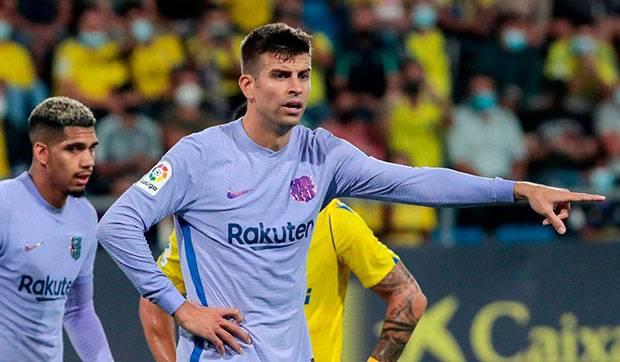 Barcelona Ditahan Imbang Cadiz, Gerard Pique Sampaikan Sebuah Pesan