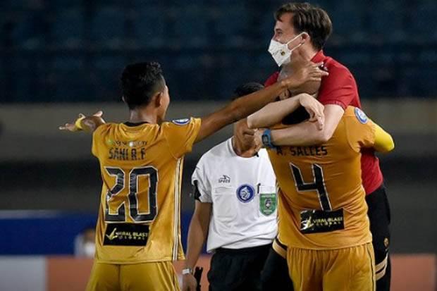 Hasil Liga 1 2021/2022, Persebaya vs Bhayangkara FC: Gol Anderson Salles Benamkan Bajul Ijo