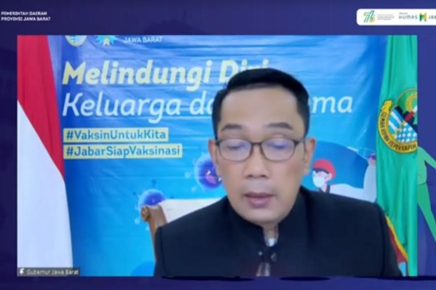 Ridwan Kamil Ragukan Data Ratusan Sekolah di Jabar Jadi Klaster COVID-19
