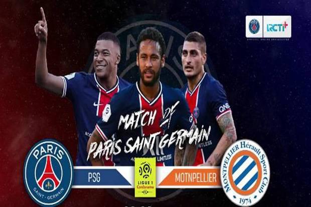 Liga Prancis PSG vs Montpellier: Lini Depan Les Parisiens Pincang