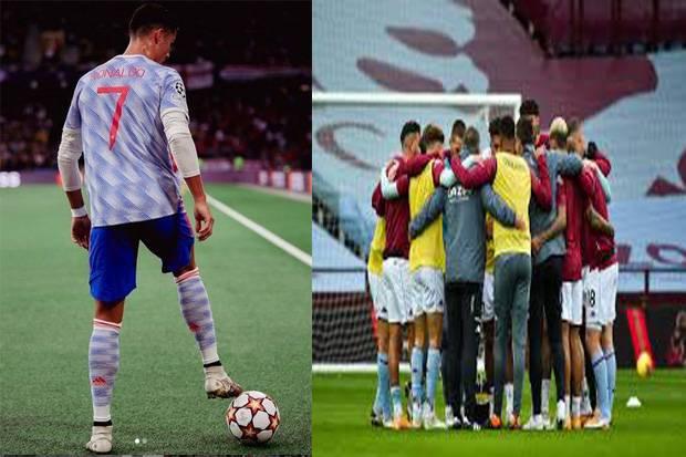 Liga Inggris MU vs Aston Villa: Siapkan Kalkulator! Berapa Gol yang Dicetak Ronaldo ke Gawang Singa