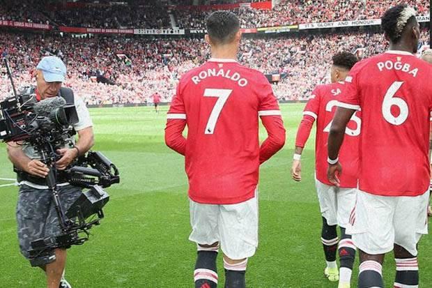 Susunan Pemain Manchester United vs Aston Villa: Panggung Ronaldo