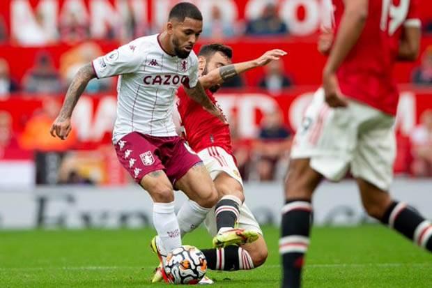 Hasil Babak I Liga Inggris 2021/2022: Manchester United Kesulitan Bobol Tembok Villa