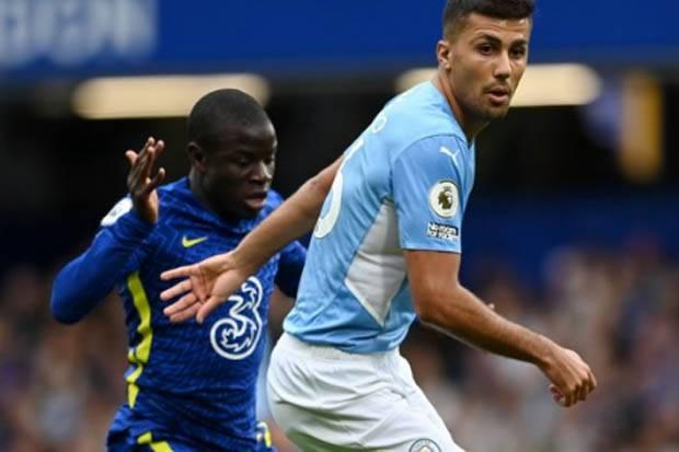 Hasil Babak I Liga Inggris 2021/2022: Chelsea vs Manchester City Buntu di Stamford Bridge