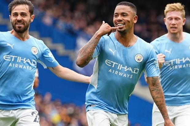 Hasil Liga Inggris 2021/2022: Manchester City Bungkam Chelsea