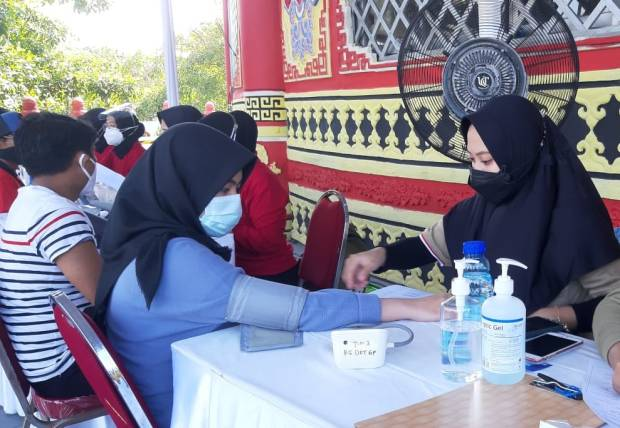 Dorong Percepatan Herd Immunity, Danone Indonesia Fasilitasi 2.000 Warga Vaksinasi