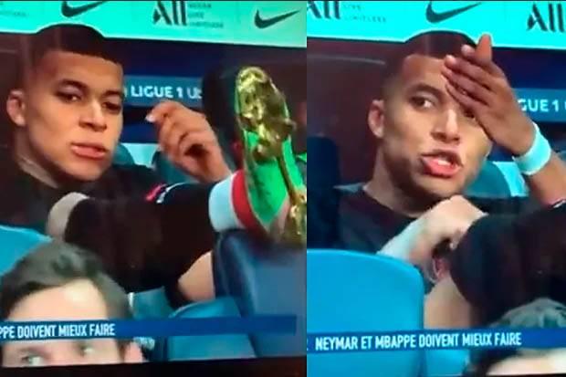 Kamar Ganti PSG Mulai Membara, Mbappe Tertangkap Kamera Marah pada Neymar