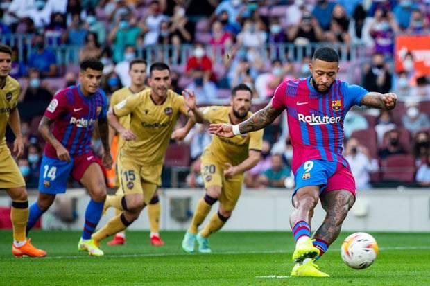 Hasil Babak I Barcelona vs Levante: Pesta Dimulai, Blaugrana Unggul Dua Gol