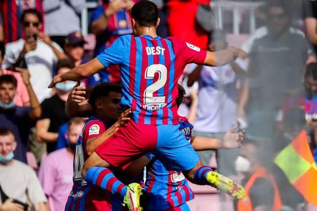 Hasil Liga Spanyol 2021/2022: Ansu Fati Tuntaskan Kemenangan Barcelona atas Levante