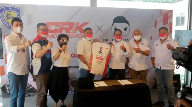 CRK Motorsport Gandeng MR. Cuanisasi Sebagai Sponsor Utama
