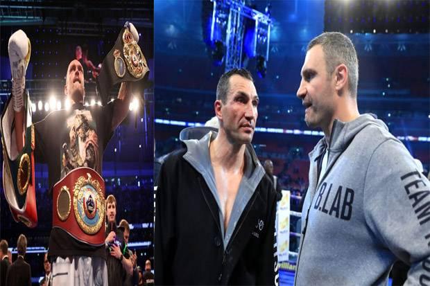 Oleksandr Usyk sang Penerus Kehebatan Wladimir Klitschko