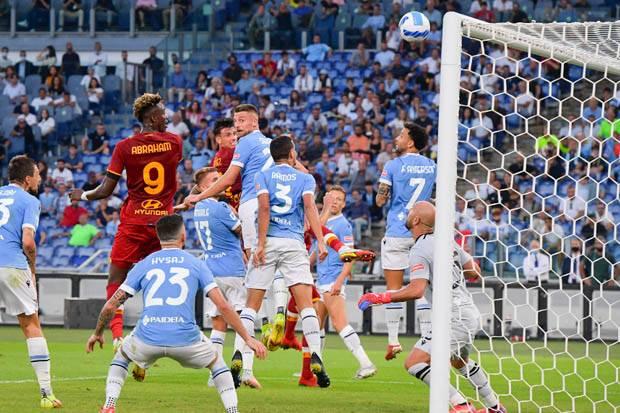 Hasil Liga Italia 2021/2022: Lumat AS Roma, Lazio Penguasa Derby della Capitale