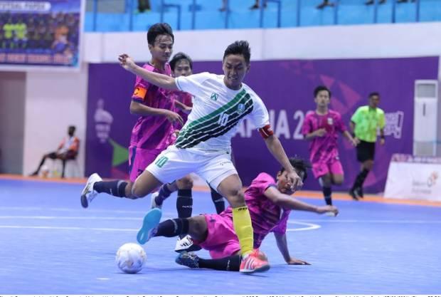 Hasil Futsal PON XX Papua: Jawa Timur Diimbangi Banten 1-1