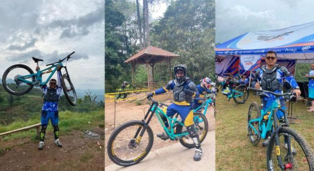 Obati Rasa Rindu Atlet Downhill, Teras CAF Gelar Kejuaraan di Lembang