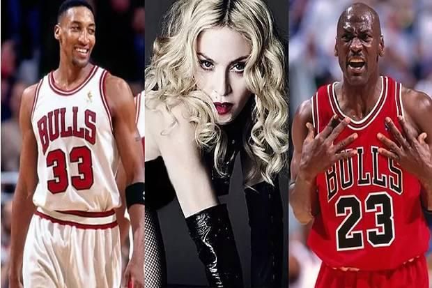 Kisah Asmara Madonna Diperebutkan Tiga Legenda Chicago Bulls