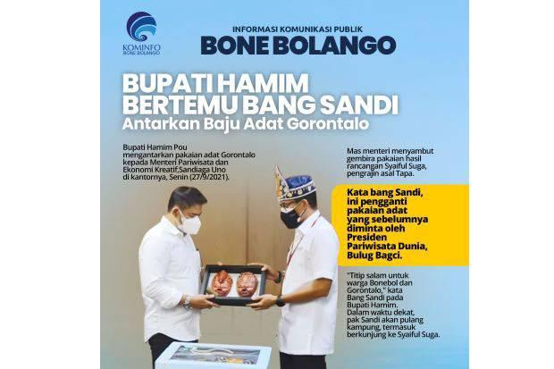 Kunker ke Jakarta, Ini yang Dilakukan Bupati Bone Bolango saat Bertemu Menparekraf