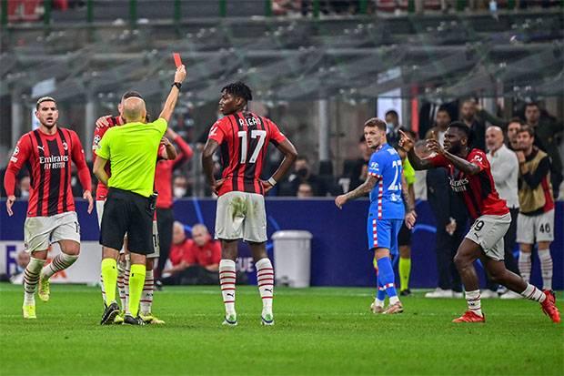 Liga Champions, AC Milan vs Atletico Madrid: Kartu Merah Kessie Warnai Kekalahan Rossoneri