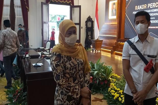 Bupati dan Wakil Bupati Bojonegoro Berseteru, Khofifah Pilih Bungkam