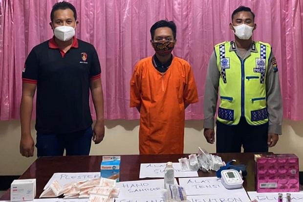 Buka Layanan Suntik Pemutih Ilegal, Ditangkap Polisi
