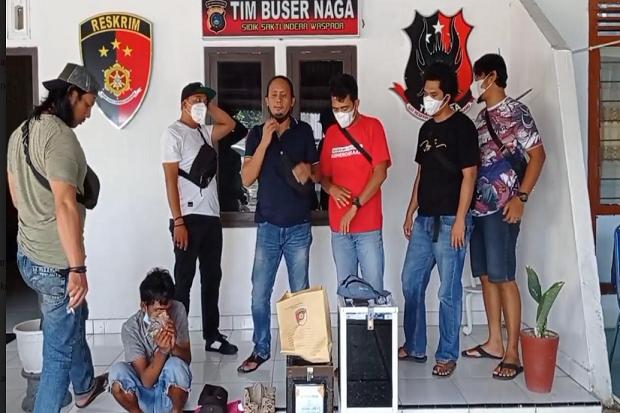 Pencuri Kotak Amal di 6 Masjid Pangkalpinang Ditangkap