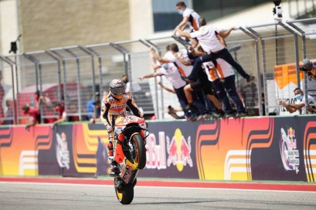 MotoGP: Marc Marquez Ungkap gara-gara Mekanik Dirinya Juara GP AS