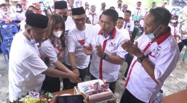 Meriahkan HUT ke-7, DPD Perindo Deliserdang Santuni Anak Yatim