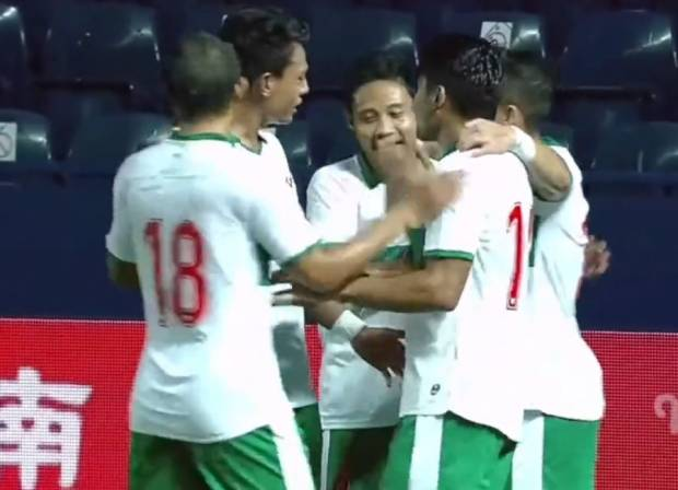 Play-off Kualifikasi Piala Asia 2023: Indonesia Ungguli Taiwan di Babak Pertama