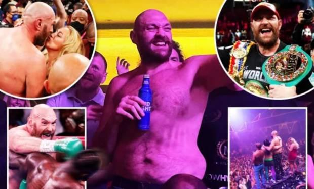 3 Jam Usai KO Deontay Wilder, Tyson Fury Dugem sampai Jam 3 Pagi