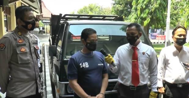 Sakit Hati, Mantan Kades Curi Mobil Operasional Sampah Milik Desa