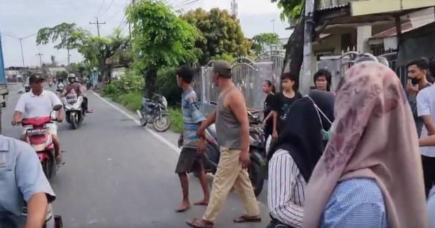 Diteriaki Maling, Pemuda di Medan Nyaris Dimassa