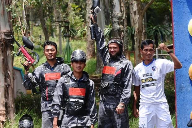 Liga 1: Latihan Perang Jadi Metode Arema FC Latih Fokus Pemain