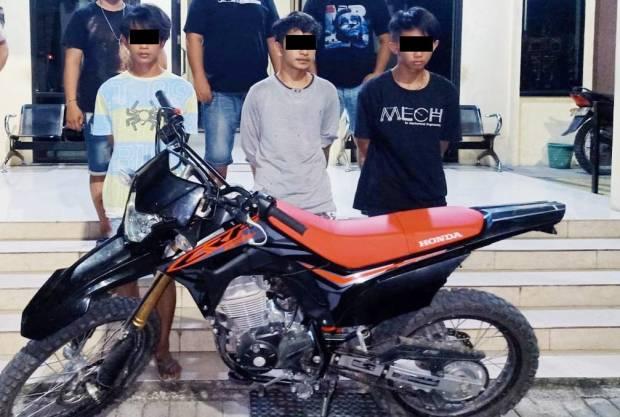 Komplotan Pencuri Motor yang Resahkan Bitung Diringkus Tanpa Perlawanan
