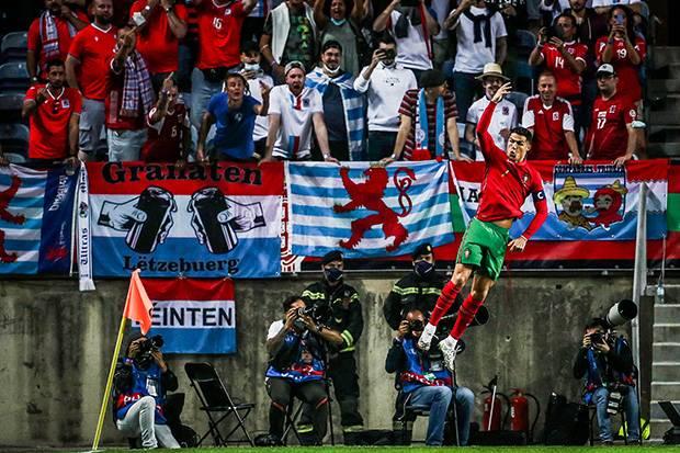 Hasil Portugal vs Luksemburg: Ronaldo Borong Gol di Babak Pertama
