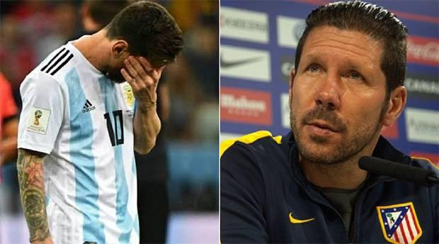 Diego Simeone Sempat Tertarik Boyong Lionel Messi ke Atletico Madrid