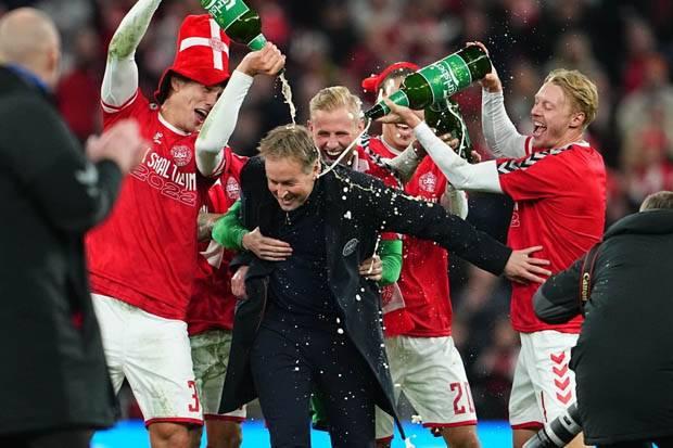 Gawang Belum Kebobolan, Denmark Tim Eropa Kedua Raih Tiket Piala Dunia 2022