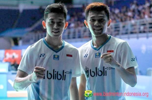Indonesia vs Taiwan di Piala Thomas 2020: Minions Absen, Fajar/Rian Bentrok Jawara Olimpiade