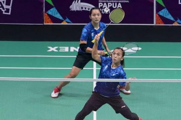 Hasil Final Bulu Tangkis Ganda Putri PON XX Papua 2021: Febriana/Gischa Tambah Emas Jatim