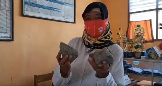 SMP PGRI Sindang Indramayu Diteror OTK, Kaca Sekolah Dilempar Batu