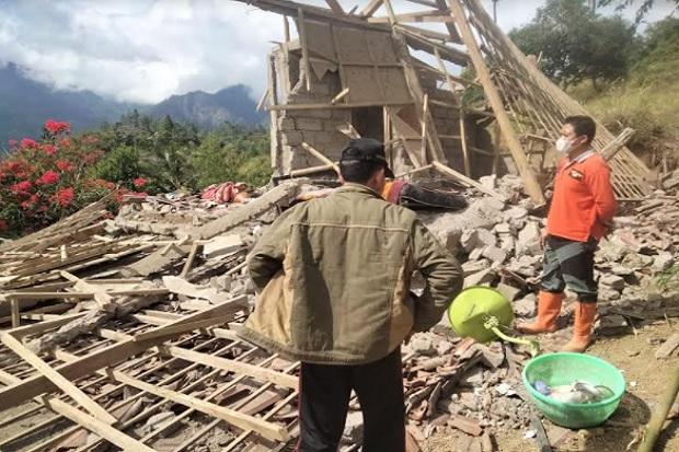 90 Persen Rumah Warga Desa Ban Karangasem Rusak Akibat Gempa