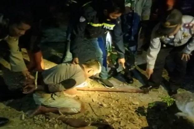 Sadis! Seorang Anak di Samosir Bacok Ayah Kandungnya hingga Tewas