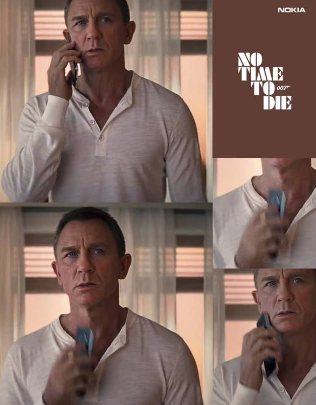 An excerpt from the James Bond movie