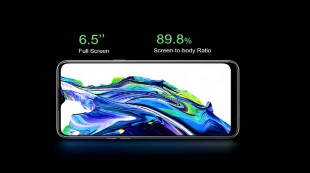 Realme 6i a leader Helio G80, camera-Quad 48 MP, rechargeable battery with 5,000 mAh