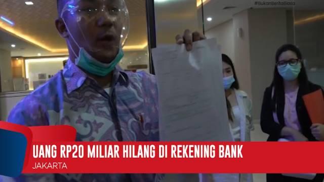 Nasional Uang Hasil Menabung Selama 5 Tahun Rp20 Miliar Raib