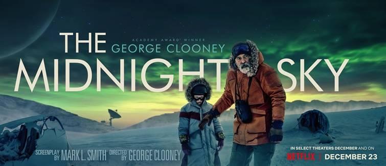 George Clooney Ungkap Pengalamannya Syuting Adegan Badai Salju untuk Film The Midnight Sky
