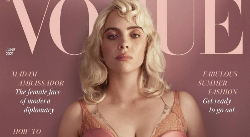 Billie Eilish Tampil sangat Berbeda dalam Majalah Vogue, Siap Terima Hujatan