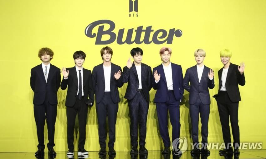 BTS Bicara tentang Butter, Grammy, ARMY, Prediksi Suga, dan Rambut Keriting V