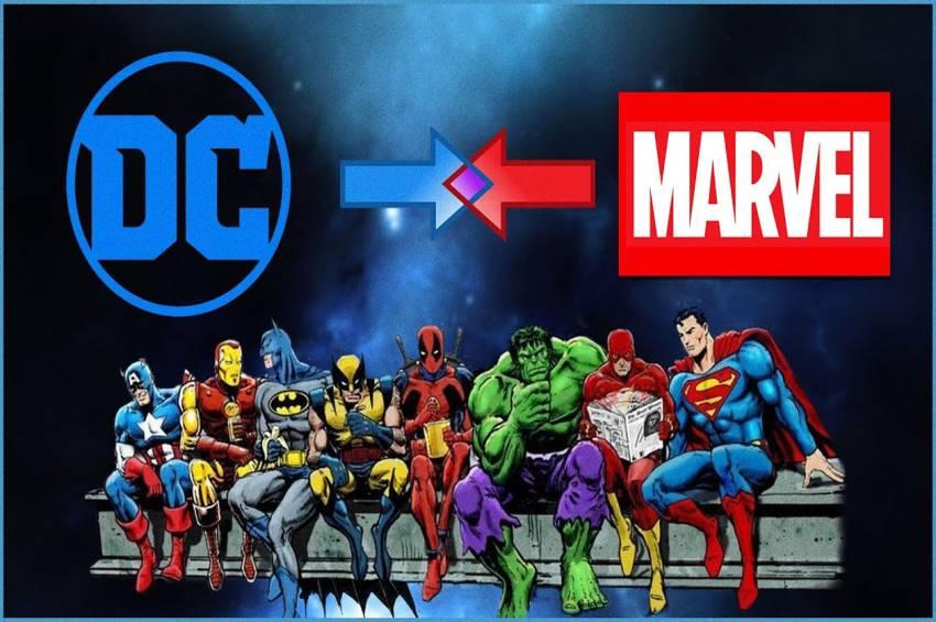 10 Superhero DC dan Marvel yang Punya Sejumlah Kesamaan