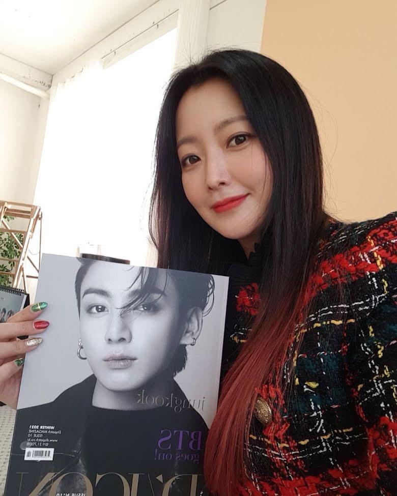 Anak Jadi Bias Jungkook BTS, Aktris Kim Hee-Sun Khawatir dengan Perilaku Anehnya